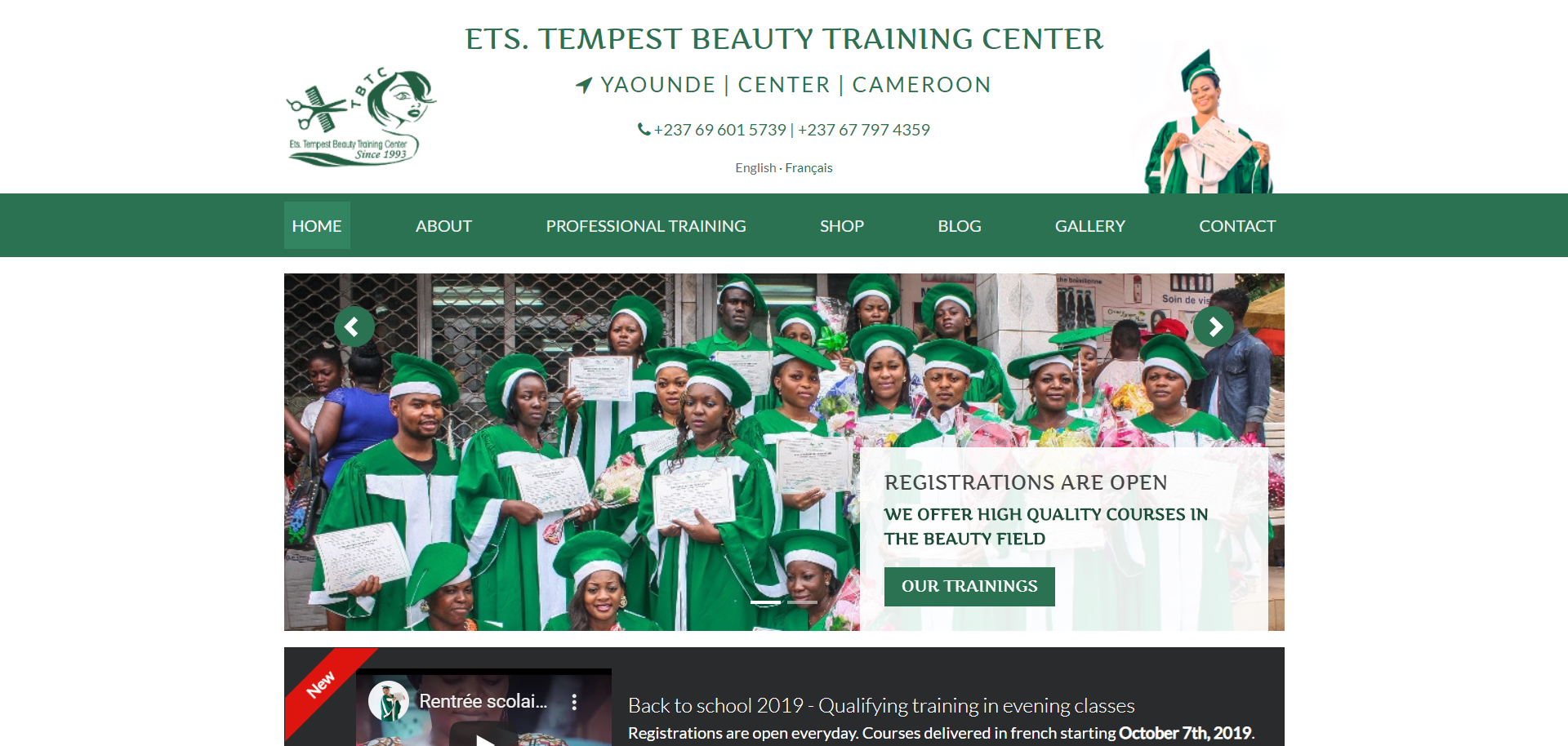 Tempest Beauty Training Center